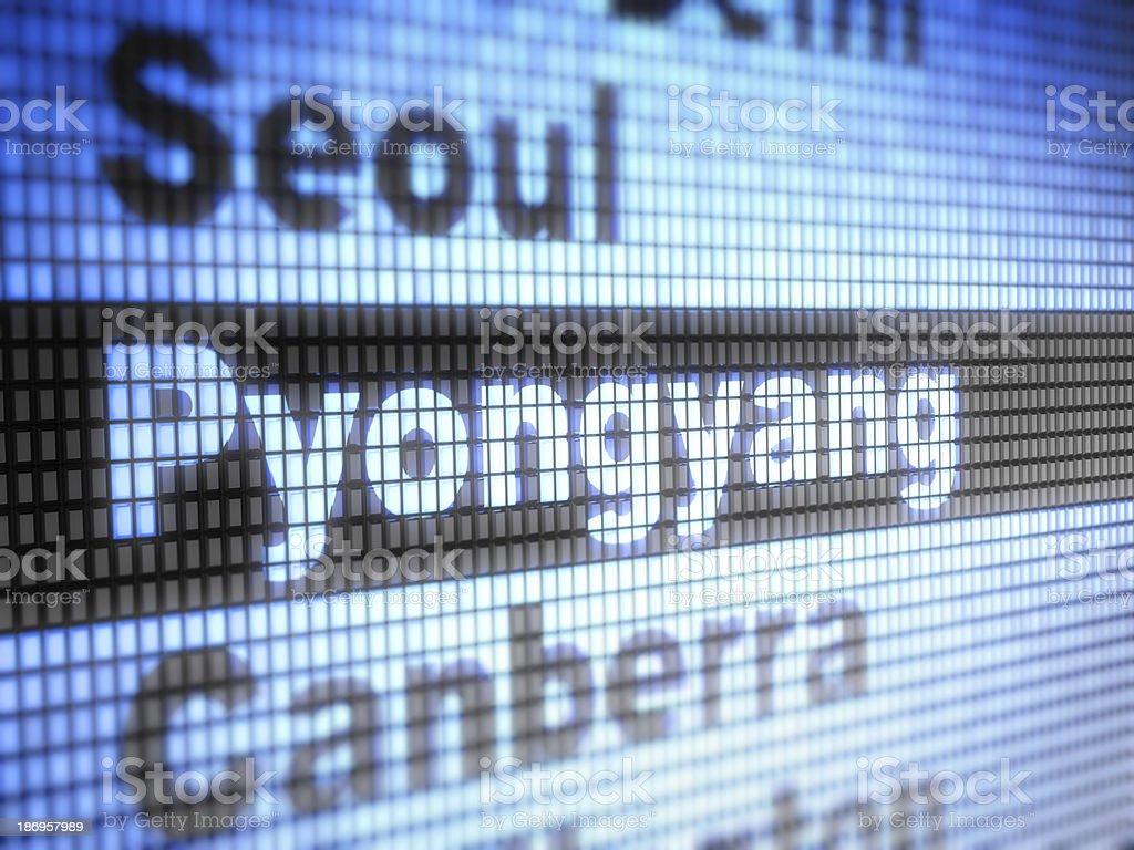 pyongyang royalty-free stock photo