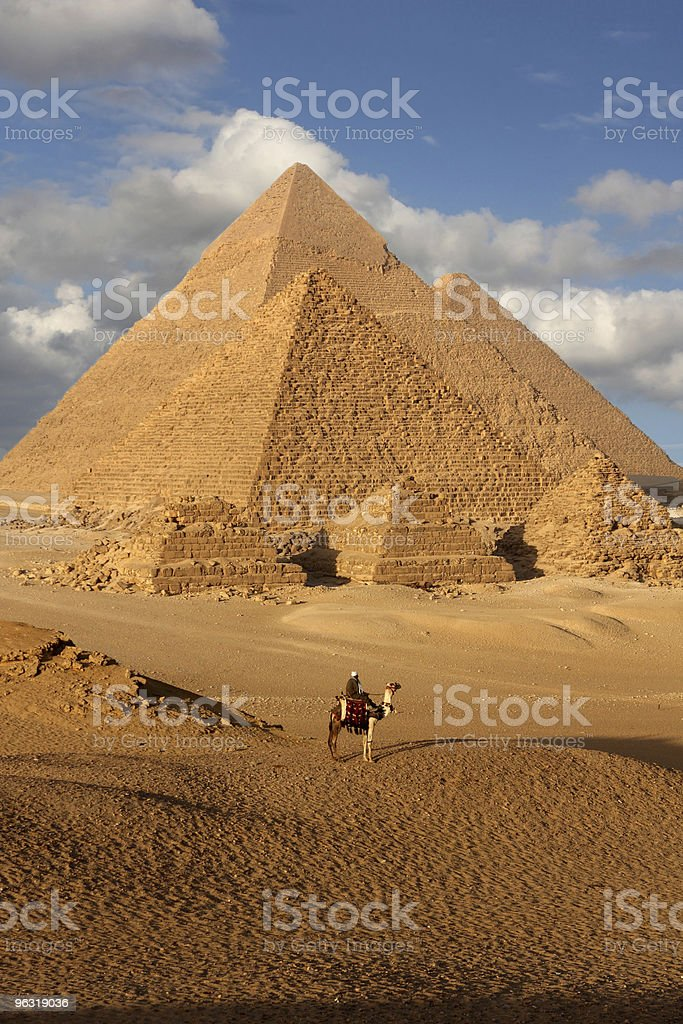 pyramid egypt stock photo