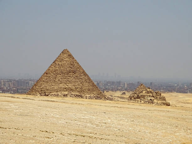 A Pyramid in Egypt stock photo