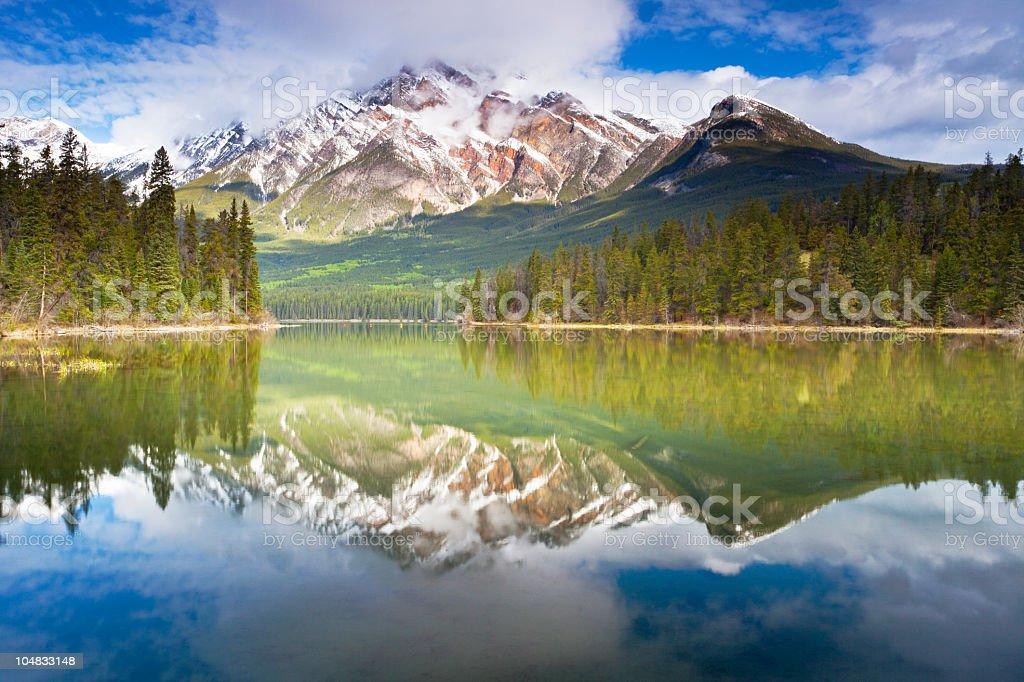 Pyramid Lake Landscape stock photo