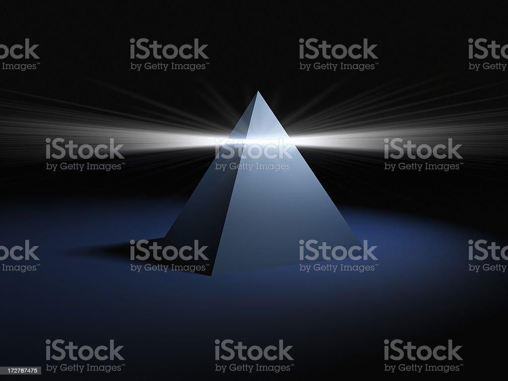 Pyramid Light XXL royalty-free stock photo