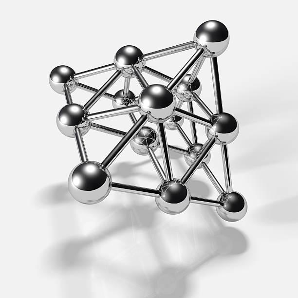 pyramide modèle - atomium photos et images de collection