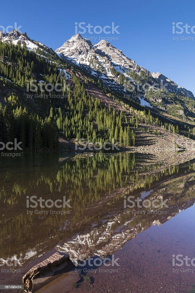 Pyramid Mountains stock photo