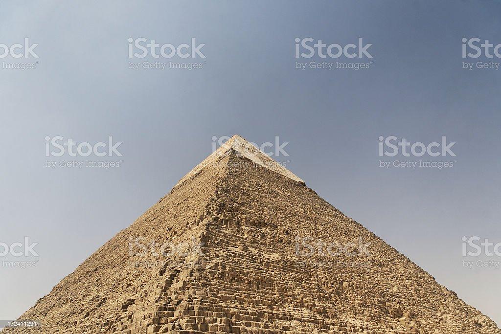 Pyramid of Chephren royalty-free stock photo