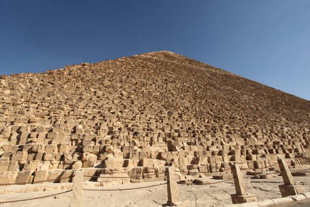 Pyramid of Giza Egypt stock photo
