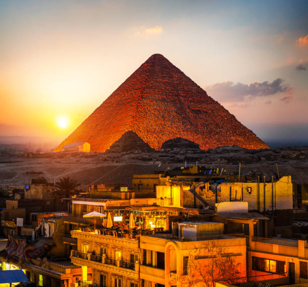 Pyramide von Gizeh – Foto