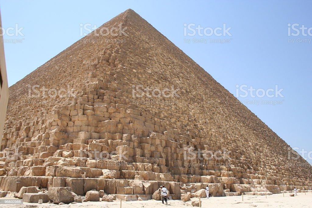 pyramid of Giza royalty-free stock photo