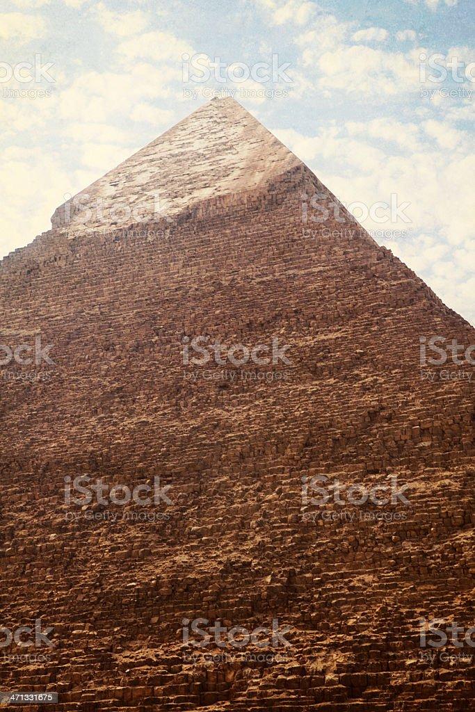 Pyramid Of Khafre - Cairo, Egypt royalty-free stock photo