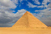 Pyramid of Khafre or of Chephren is the second-tallest and second-largest of the Ancient Egyptian Pyramids of Giza
