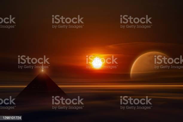 Photo of Pyramid on alien world
