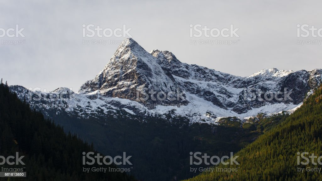 Pyramid Peak stock photo