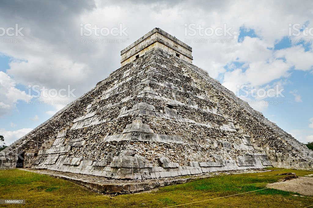 Pyramid royalty-free stock photo