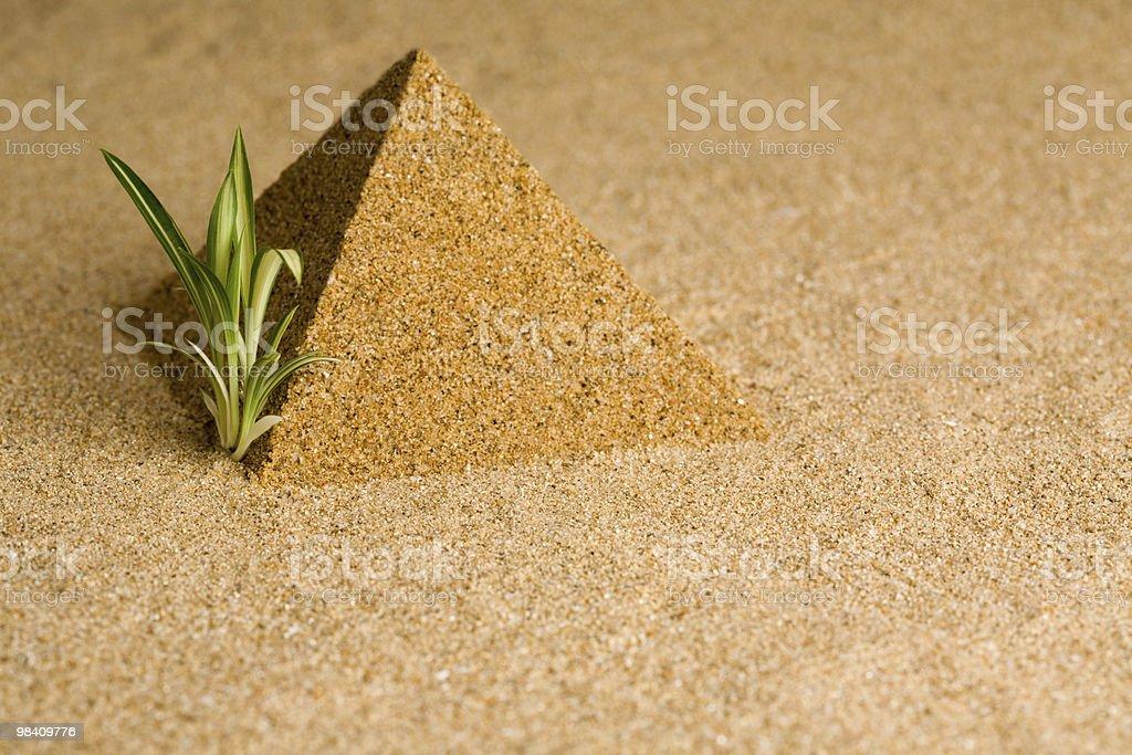 pyramid royalty-free stock photo