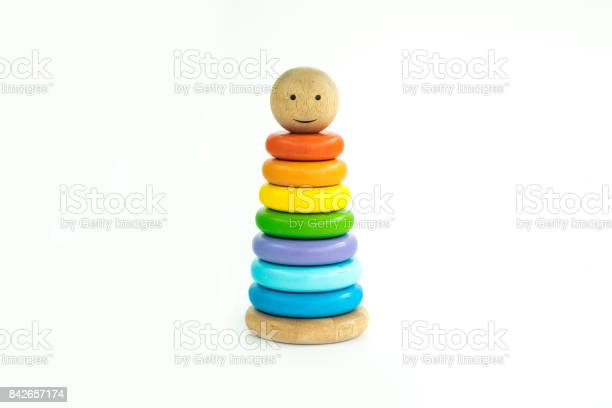 Pyramid toy composed of colorful wooden rings in a white isolated picture id842657174?b=1&k=6&m=842657174&s=612x612&h=6qthlevoqikrp0dpjvgama9hzkocbnttoysf3plrjuw=