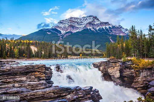 istock Pyramidal mountain covered with the snow 511585810
