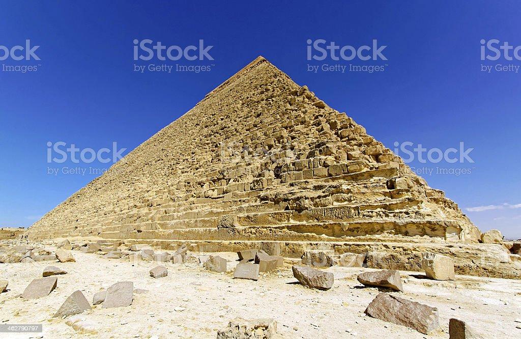 Pyramide of Kharfe royalty-free stock photo