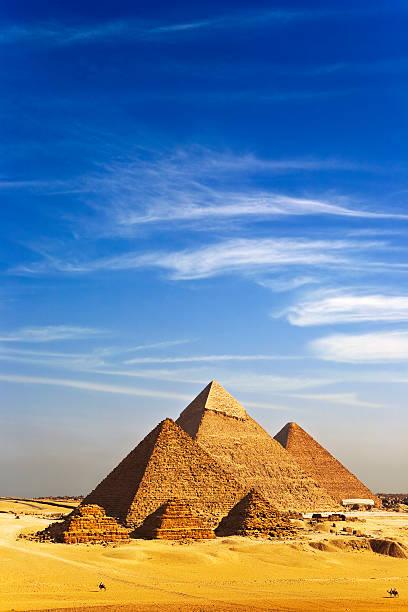 Die Pyramiden von Gizeh – Foto