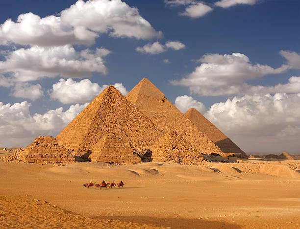 Pyramiden von Gizeh, Ägypten – Foto