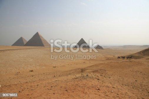 istock Pyramids of Giza 90978653