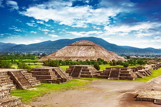 Pyramiden von Mexiko – Foto