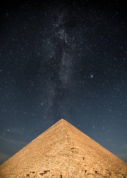 pyramids of the pharaohs in Giza
