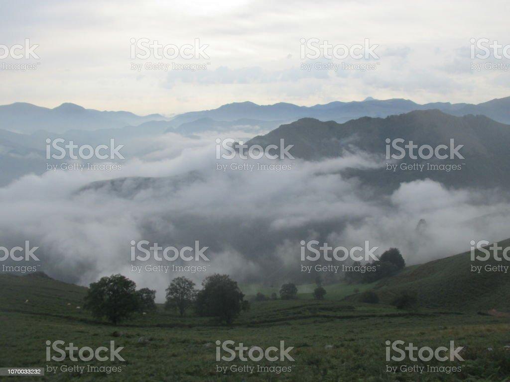 Pyrenees France stock photo