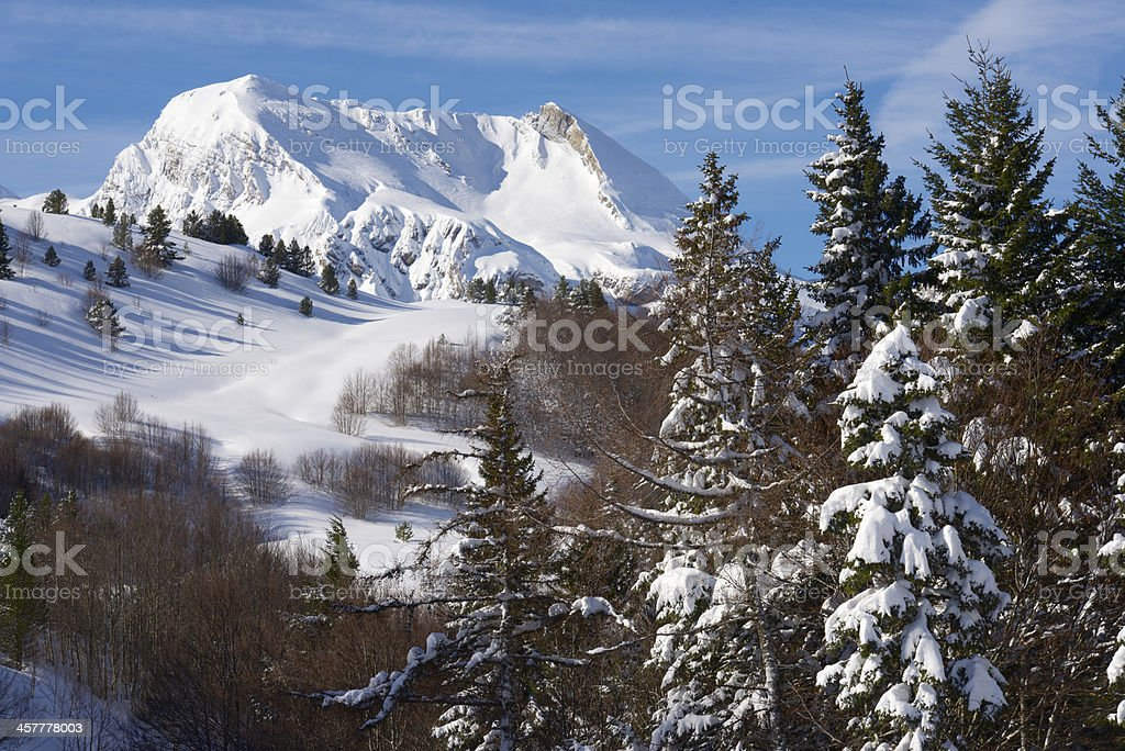 Pyrenees royalty-free stock photo