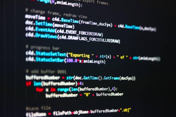 python コード - プログラミング ストックフォトと画像