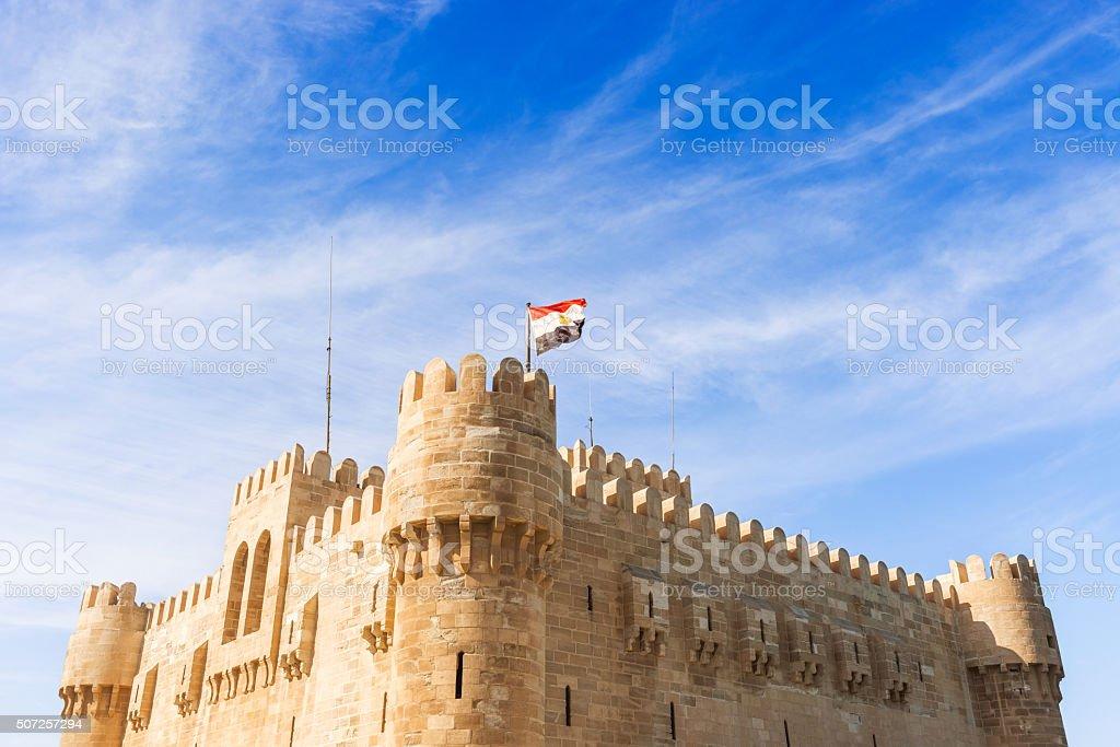 Ciudadela de Qaitbay en Alejandría, Egipto - foto de stock