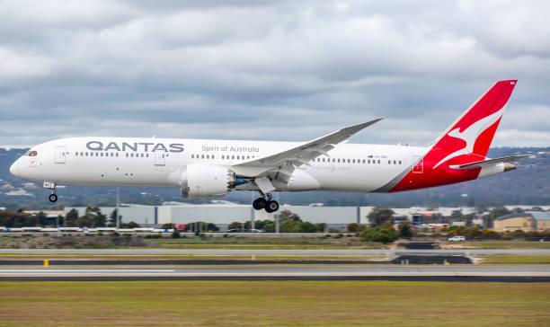 qantas 787 - qantas foto e immagini stock