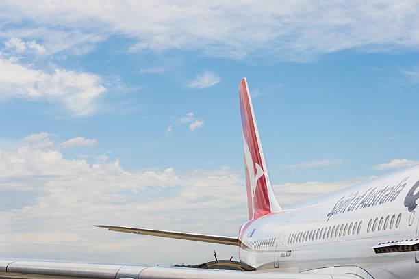 qantas aeromobili passeggeri - qantas foto e immagini stock
