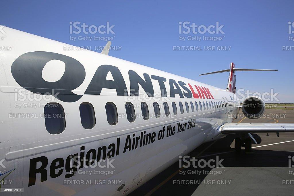 QantasLink royalty-free stock photo