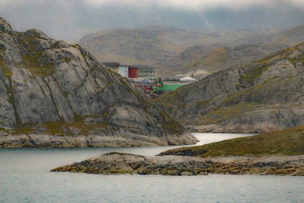 Qaqortoq, Grönland Hafeneinfahrt – Foto