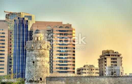 istock Qasr al-Hosn, an ancient fort in Abu Dhabi, UAE 508101012