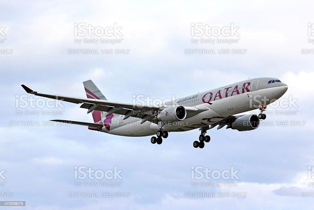 Qatar Airways Airbus A330 stock photo