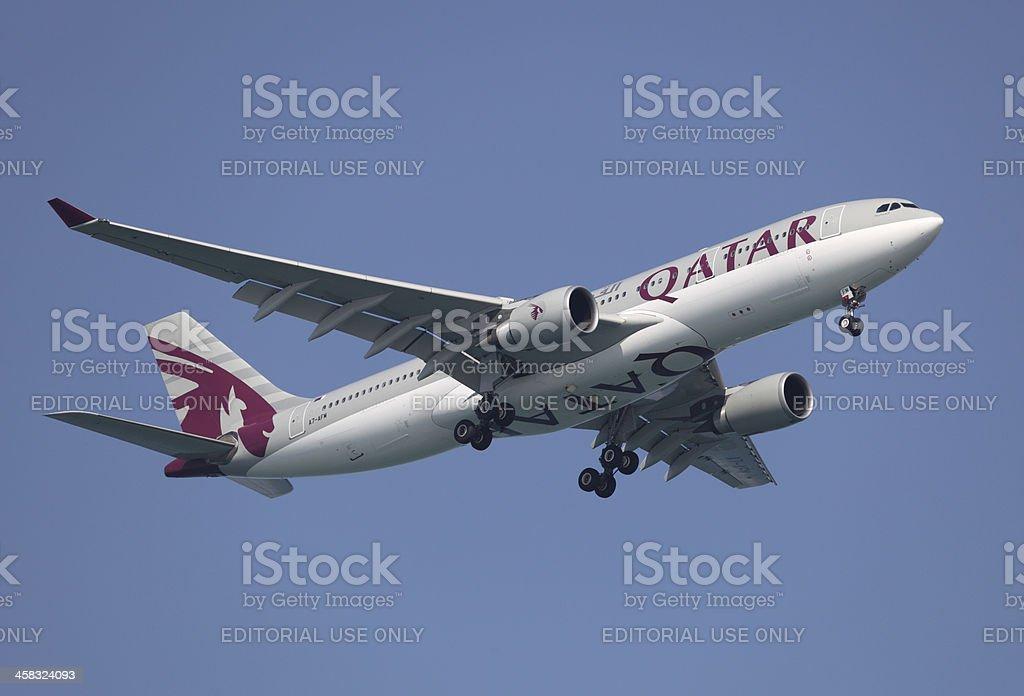 Qatar Airways Airbus stock photo