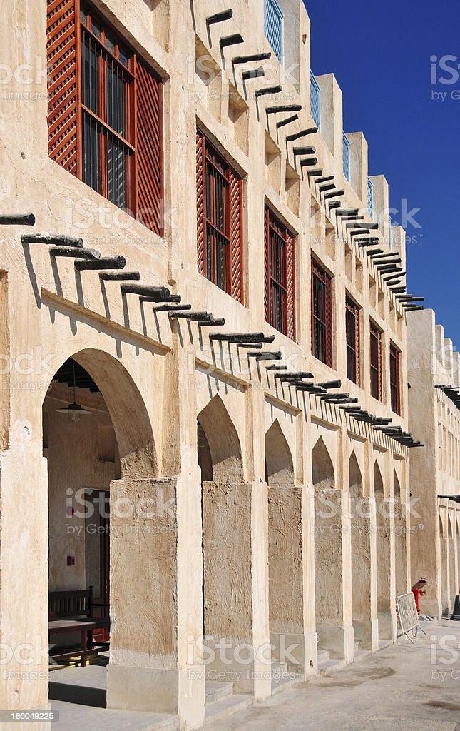 Qatar, Doha - Souq Wagif stock photo