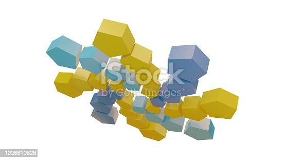 istock Qatar symbol icon soccer abstract 3d-illustration 1026610628