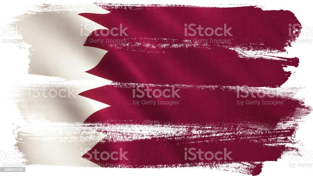 Bandera catarí - foto de stock