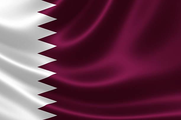 drapeau du qatar - qatar photos et images de collection