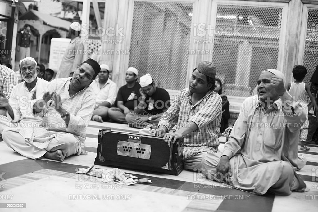 Qawali singers stock photo