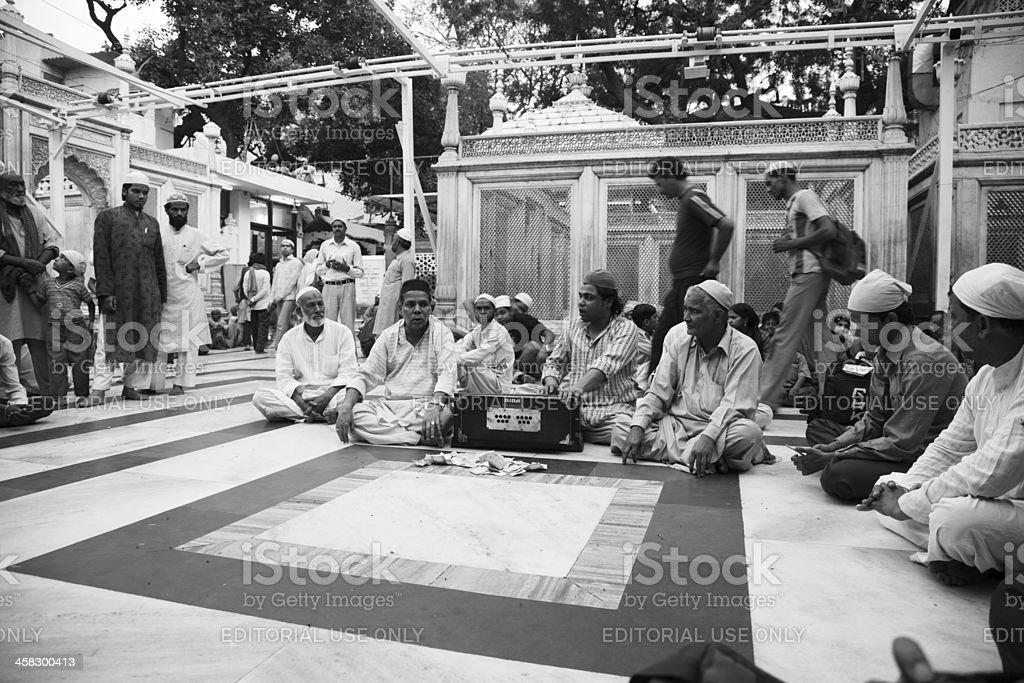 Qawali singers royalty-free stock photo