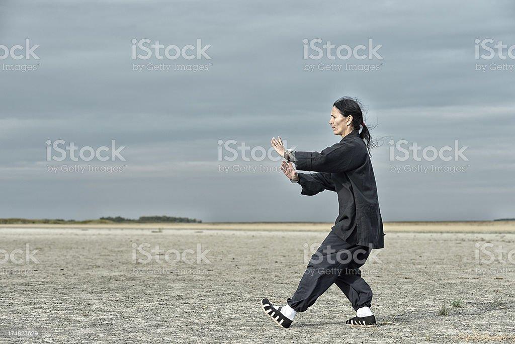 Qi Gong royalty-free stock photo