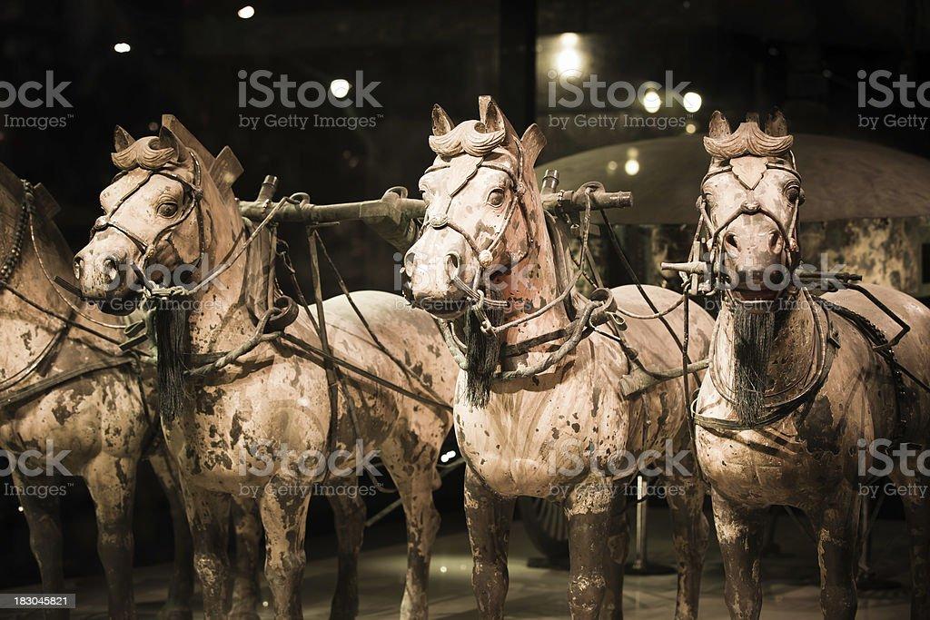 Qin Shi Huang's Tomb XXXL stock photo