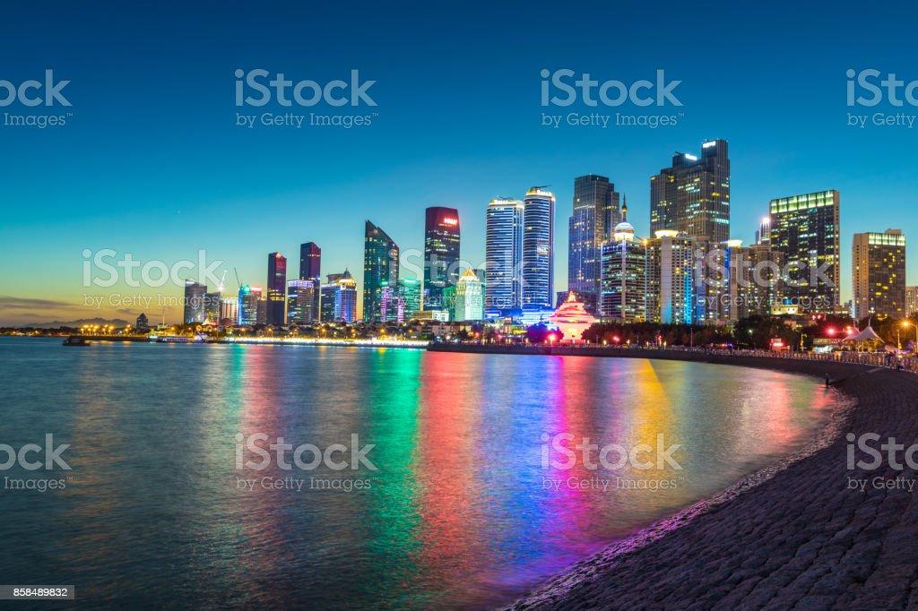 Qingdao Cityscape stock photo