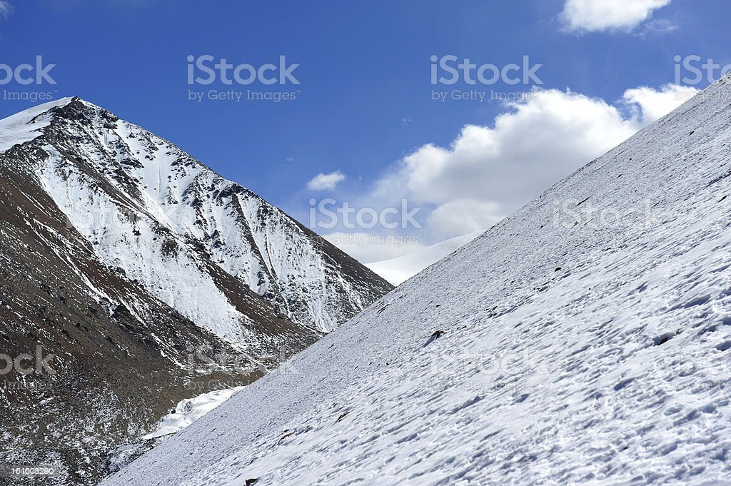 Qiyi glacier royalty-free stock photo