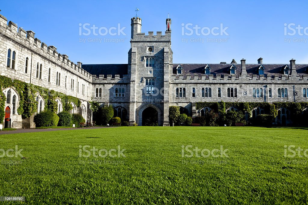 Quad University College Cork stock photo