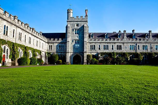Quad University College Cork stock photo