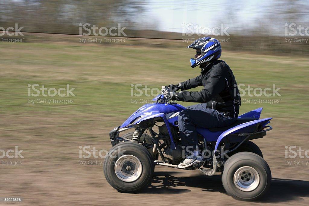 Quadbike royalty-free stock photo