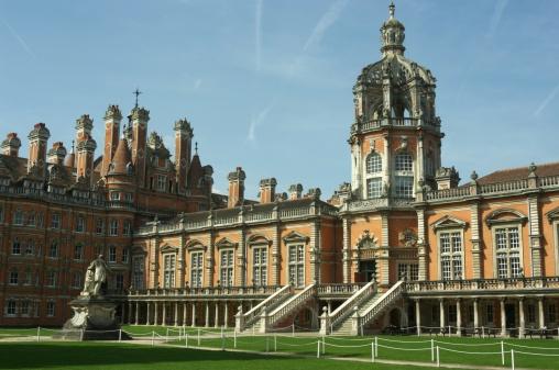 Quadrangle of The Royal Holloway College near London England